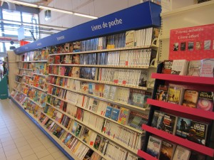 Books at Carrefour