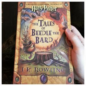 The Tales of Beedle the Bard jk rowling